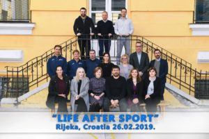 "Erasmus+ Collaborative Partnership: ""LIFE AFTER SPORT"""