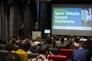 "Here we are: ""SOCIAL EMPOWERMENT THROUGH SPORT"" Conference ın BILGI UNIVERSITY"